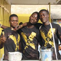 YAP-Auszubildende in Ghana