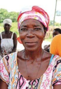 Atogetege konnte durch die Teilnahme am Hilfsprojekt ihre Ernteerträge verdreifachen.