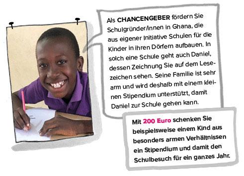 Chancengeber bei Opportunity International Deutschland